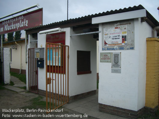 Wackerplatz Berlin Reinickendorf